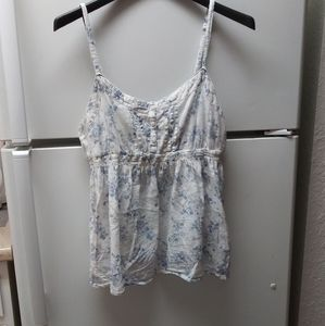 Delicate Floral summer top